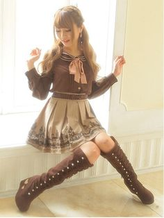 Love the outfit, but not so sure if I would wear this...I want the boots though…
