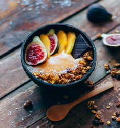 Smoothie bowl de caq