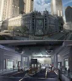 the art of Final Fantasy XV