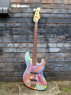 Coldplay inspired bass guitar