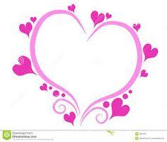 """Résultat de recherche d'images pour """"coeur dessin rose"""" Images, Hearts, Pink Drawing, Pink Hearts, Search"""