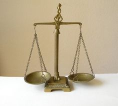 Vintage Metal Weighing Scales By Thehopetree On Etsy