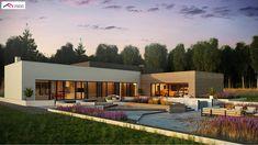 Zx184 to wyjątkowy dom z kategorii projekty domów jednorodzinnych