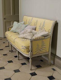 Upholstery color scheme ideas.