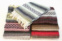 Mexican Blankets will bring a pop of color to your dorm room!  Throw on your bed, cover your window, use for warm or cushioning.