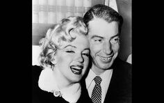 Marilyn and Joe Dimaggio