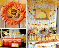 45 Awesome Construction Birthday Party Ideas                              …