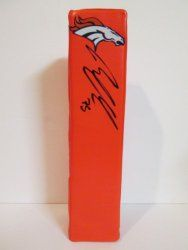 SOLD OUT! Ryan Clady signed Denver Broncos Rawlings football touchdown end zone pylon w/ proof photo.  Proof photo of Ryan signing will be included with your purchase along with a COA issued from Southwestconnection-Memorabilia, guaranteeing the item to pass authentication services from PSA/DNA or JSA. Free USPS shipping. www.AutographedwithProof.com is your one stop for autographed collectibles from Denver sports teams. Check back with us often, as we are always obtaining new items.