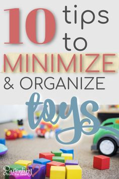 If you're overwhelmed by toys post-Christmas or any time of year, inside is loaded with the best tips for minimizing and organizing toys. Toy Organization, Organizing Toys, Toys For Girls, Kids Toys, Sibling Fighting, Positive Discipline, Attachment Parenting, Books For Teens, Help Teaching