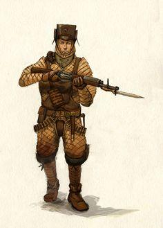 Infantryman by Peepook