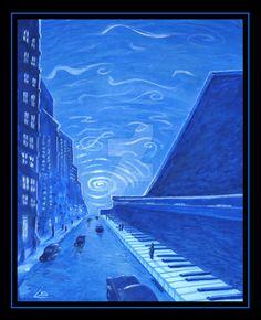 Rhapsody in Blue by larrybriner