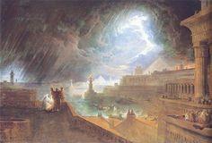 The Seventh Plague - John Martin
