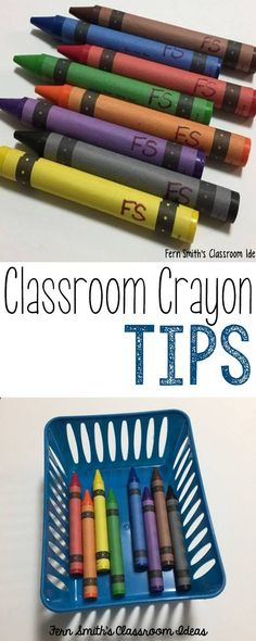 Crayon tips to help