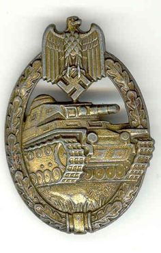 Panzerkampfabzeichen) is a German military honor..