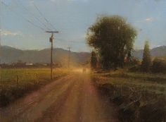 "Brent Cotton ""County Road"" 8x10"