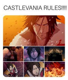 Alucard Castlevania, Castlevania Netflix, Castlevania Lord Of Shadow, Belmont Castlevania, Anime Guys, Manga Anime, Vampire Hunter D, Trevor Belmont, Lord Of Shadows