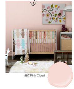 Benjamin Moore Pink Cloud
