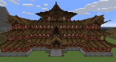 China Temple Minecraft Project