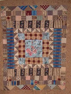 The popular perception of a Welsh Quilt is one that is graphic in style with simple shapes and usually made of plain or slightly patterned . Old Quilts, Antique Quilts, Scrappy Quilts, Small Quilts, Mini Quilts, Vintage Quilts, Crib Quilts, Sampler Quilts, Vintage Textiles