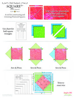 Quilting Board, Quilting Tools, Quilting Rulers, Quilting Tutorials, Quilting Projects, Sewing Projects, Quilting Ideas, Quilt Block Patterns, Pattern Blocks