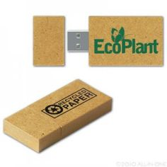 EcoPlanet - Eco Friendly USB Flash Drive - Made with recycled paper: provide employees; provide special event speakers with pre-loaded inn info to take home Solar Water Heating System, Solar Energy System, Usb Drive, Usb Flash Drive, Solar Geyser, Corporate Giveaways, Reduce Reuse Recycle, Green Gifts, Eco Friendly