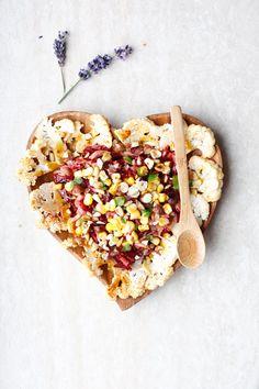 bietjes * venkel * bloemkool * mais * salade