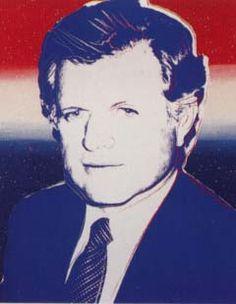 Andy Warhol  Edward Kennedy  Screenprint