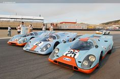 Porsche 917Ks, Rolex Monterey Historic Automobile Races