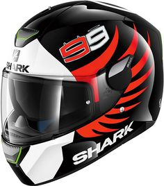 Shark Skwal Lorenzo Shark Motorcycle Helmets, Shark Helmets, Motorcycle Outfit, Bike Helmets, Ducati 848, Helmet Design, Riding Gear, Cars And Motorcycles, Cars