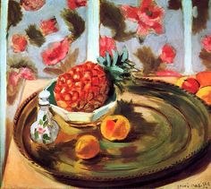 Still Life with Pineapple Henri Matisse - 1924