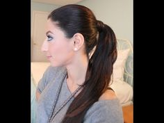 How To: Ponytail with Luxy Hair Extensions...finally a how to for girls with clip in extensions
