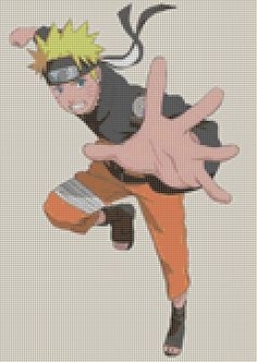 Naruto stitch pattern