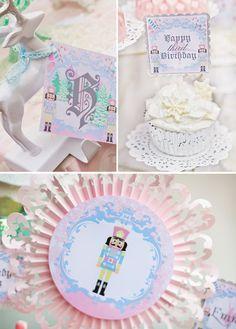 Magical Sugar Plum Fairy Nutcracker Birthday Party. I'd love to host a Nutcracker party every Christmas!