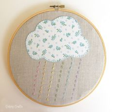 Embroidery Hoop Patterns - Cutesy Crafts