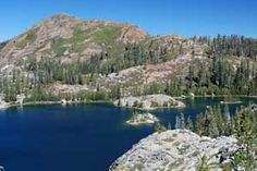 Photo of Island Lake, Grouse Ridge area, Tahoe National Forest, CA