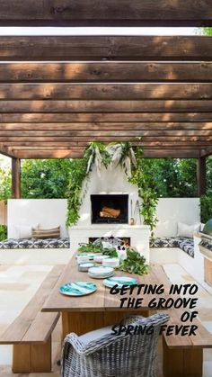 Outdoor Rooms, Outdoor Dining, Outdoor Decor, Patio Dining, Dining Set, Modern Outdoor Living, Deck Patio, Outdoor Living Areas, Dining Table