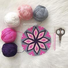 Ideas For Crochet Basket Chart Cross Stitch Tapestry Crochet Patterns, Crochet Stitches, Crochet Handbags, Crochet Purses, Mochila Crochet, Tapestry Bag, Diy Crochet, Crochet Amigurumi, Crochet Projects