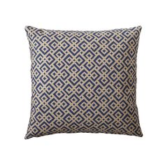 Navy Lattice Pillow Cover | Serena & Lily