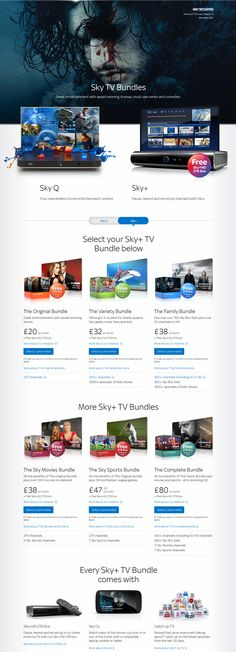 Get Started With Sky TV #sky_tv #bundles #packages #sky_q #tv_channels #entertainment