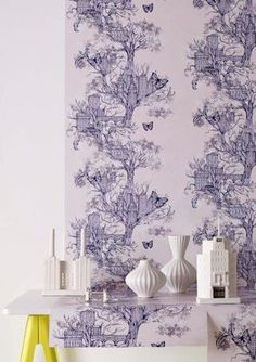 The New Wave Collective  Graham & Brown, an international leader in wall decoration, has been known for innovative and cutting edge wallpaper and wall art designs for over 65 years.