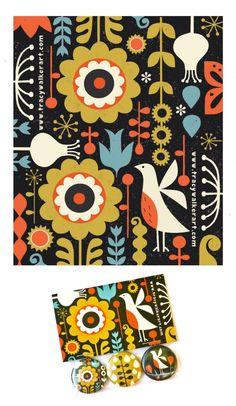 ©Tracy Walker   #pattern #surface design  Surtex 2013