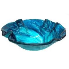 Eden Bath Glass Vessel Round Bathroom Sink at Lowe's. The Eden Bath Caribbean Wave Above Counter Round Tempered Glass Vessel Sink features a beautiful mix of blues swirled together like a wave. The finish is His And Hers Sinks, How To Wash Vegetables, Bathroom Plants, Bathroom Sinks, Bathroom Ideas, Navy Bathroom, Condo Bathroom, Bathroom Showers, Bathroom Small