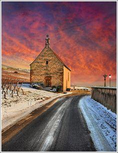 Church Street by Jean-Michel Priaux, via Flickr #Sigolsheim #Alsace #France