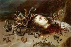 Peter Paul Rubens - The Head Of Medusa - Baroque Painting Print Poster Museum-quality posters made on thick and durable matte paper. Add a wonderful accent to your room and office with these posters that are sure to brighten any environment. Medusa Painting, Medusa Art, Baroque Painting, Baroque Art, Peter Paul Rubens, Greek Mythological Creatures, Rubens Paintings, Rennaissance Art, Painting Prints