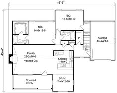 - 22027SL | Country, Ranch, 1st Floor Master Suite, Butler Walk-in Pantry, CAD Available, PDF | Architectural Designs