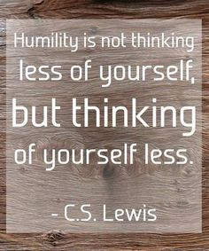 C.S. Lewis on Humility