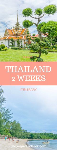 Thailand 2 week itinerary for 1st timers #Travel #Thailand #Asia