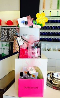 We've assembled three great gift sets for Mom--or shop early for Grads!