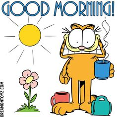 20 Best Garfield Morning Images Garfield Garfield Comics Garfield And Odie