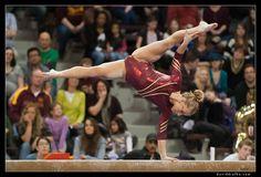 Women's Gymnastics - Nebraska at Minnesota by daviddrufke, via Flickr
